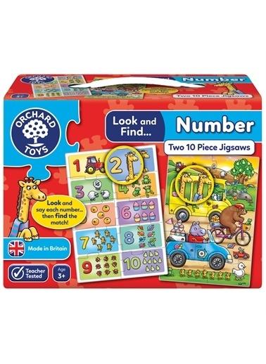 Orchard Orchard Toys 331 Bak Ve Bul Sayilar İki Puzzle Renkli